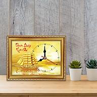 Tranh đồng hồ chữ Thuận Buồm Xuôi Gió Đồng hồ hand made WC085 thumbnail