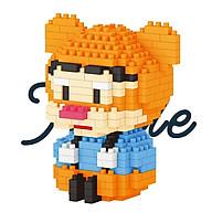 Bộ lắp ráp mini mô hình nhân vật hoạt hình dễ thương thumbnail