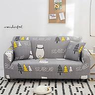 Bộ Bọc cho ghế sofa vải, sofa da bằng chất liệu vải poly co giãn 4 chiều Marytexco MỀM MÁT THÍCH HỢP CHO MÙA HÈ họa tiết sắc nét, thanh lịch, đơn giản nhiều mẫu mã đủ kích thước - Tặng kèm 1 vỏ gối freesize thumbnail