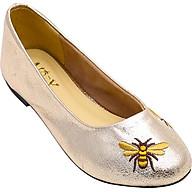 Giày búp bê Mozy thêu da mờ MZBB42.1 thumbnail