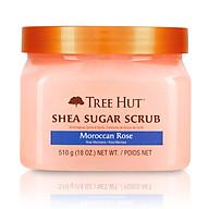 Tẩy tế bào chết cơ thể Tree Hut Shea Sugar Scrub In Moroccan Rose. thumbnail