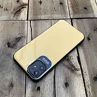 Ốp lưng bảo vệ camera lưng bóng dành cho iPhone 11 - Màu vàng thumbnail