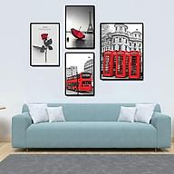 Tranh treo tường, tranh canvas TB100 4 tấm thumbnail