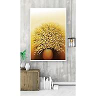 Tranh Trang Trí Lọ Hoa Vàng Treo Tường thumbnail