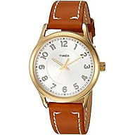 Timex Women s New England Leather Strap Watch thumbnail