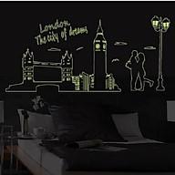 Decal dán tường Dạ Quang London - SS63 thumbnail