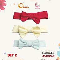 Turban, Băng Đô Nơ Vải Cotton Siêu Mềm Đẹp Cho Bé ( Đủ Size) thumbnail