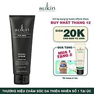 Kem tẩy tế bào chết dành cho nam Sukin For Men Facial Scrub 125ml thumbnail