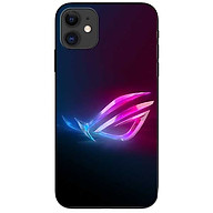 Ốp lưng da nh cho Iphone 12 Mini mẫu Gaming Mắt Hồng Xanh thumbnail