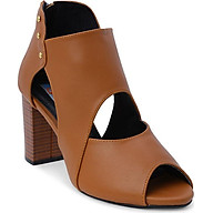 Giày Boot Nữ Cổ Thấp Rosata RO114 - Nâu thumbnail