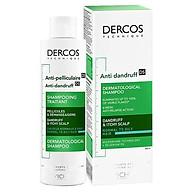 Dầu gội giảm gàu, rụng tóc dành cho da dầu Vichy Dercos Anti-Dandruff DS (200mL) thumbnail