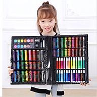 Bộ bút chì màu màu nước dụng cụ vẽ cắt thủ công KP000575-150 quà tặng cho bé thumbnail