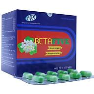 Viên cảm cúm Betafive - Giúp bổ phế, làm giảm các triệu chứng do hắt hơi, sổ mũi, ho, đau rát họng do cảm. Hộp 100 viên. SP Chính hãng, được Sở Y Tế cấp phép thumbnail