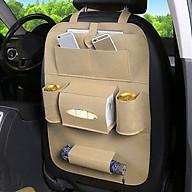 Túi nỉ tiện dụng trên ô tô (màu ngẫu nhiên) - Tặng kèm 5 móc dán tường màu ngẫu nhiên thumbnail