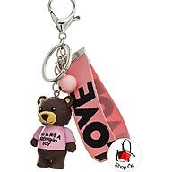 Móc khóa gấu cute siêu yêu cho các nàng e0009 thumbnail