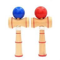 Đồ chơi tung hứng Kendama Nhật Bản gỗ 13cm (Màu Ngẫu Nhiên) thumbnail