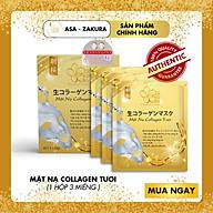 [HOT SALE] Hộp Mặt Nạ Collagen Tươi (Hộp 3 Miếng) thumbnail