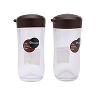 Bộ 2 lọ nhựa đựng gia vị rót xì dầu nước tương, nước mắm 120ml cao cấp - Hàng Nội Địa Nhật thumbnail