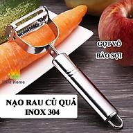 Nạo rau củ quả, gọt trái cây, dụng cụ bào sợi thép không gỉ inox 304 cao cấp đa năng 3 in 1 tiện lợi thumbnail