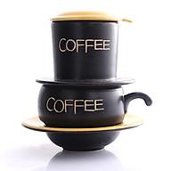 Phin Cafe Gốm Màu Vàng Thấp MNV-CF001 2 thumbnail