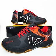 Giày bóng chuyền nam PR -20001 cao cấp màu đen cam thumbnail