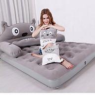 Đồ dùng phòng ngủ Giường hơi m6 kèm gối hình thú êm ái không mùi thu gọn dễ dàng có tặng kèm bơm điện đa năng thumbnail