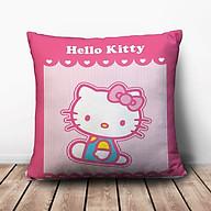 Gối Vuông Hello Kitty Nền Sọc GVCT019 (36 x 36 cm) thumbnail