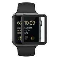 Miếng Dán Cường Lực Glass 3D 9H Full Màn Hình Cho Apple Watch 38mm ,40mm , 42mm ,42mm thumbnail