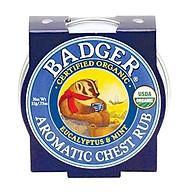 Sáp Hữu Cơ Bôi Ngực Badger Aromatic Chest Rub thumbnail