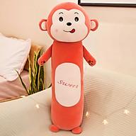 Gấu Bông Gối Ôm Hình Khỉ Con Sweet Siêu Đáng Yêu 55cm thumbnail
