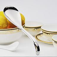 Vá - muỗng bới cơm, múc canh inox 304 - 23x6.5cm 99g thumbnail