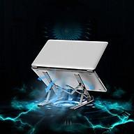 Giá đỡ tản nhiệt dùng cho laptop, macbook, điện thoai, máy tính bảng, đọc sách ( Giao màu ngẫu nhiên) - Hàng chính hãng thumbnail