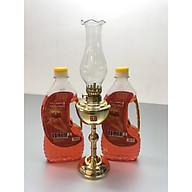 Đèn Thờ Đốt dầu bằng đồng vàng bóng( tặng kèm 2 chai dầu 500ml) - TL210 thumbnail