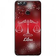 Ốp lưng dành cho Honor 7X mẫu Cung hoàng đạo Libra (đỏ) thumbnail
