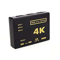VINETTEAM Bộ Chuyển Đổi HDMI 4K 3 Đầu HDMI Vào Và 1 Đầu HDMI Ra Với Điều Khiển Từ Xa-Hàng Nhập Khẩu thumbnail