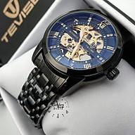 Đồng hồ nam máy cơ Tevise T9005A chạy full kim Automatic (Chọn màu) thumbnail