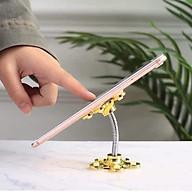 Giá đỡ điện thoại hình bông hoa 2 đầu đế hít ( nhiều màu ) thumbnail