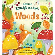 Sách Usborne Little lift and look Woods thumbnail