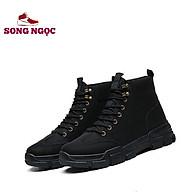 Giày cổ cao nam SSN67(2 mầu)tăng chiều cao chất liệu vải dệt cao cấp 1loại thumbnail
