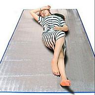 Chiếu Bạc Cách Nhiệt 50 x 170 cm Dùng Trong Văn Phòng - Ngoài Trời Thảm Hai Lớp Chống Thấm Phụ Kiện Bỏ Túi Cá Nhân CBCN05 - Viền Màu Ngẫu Nhiên thumbnail