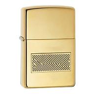 Hộp Qụet Bật Lửa Windproof 28145 Màu Vàng - Dùng Xăng Bấc Đá Cao Cấp thumbnail