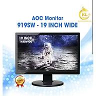 Màn hình chính hãng LCD AOC 919Ss 19 Inch Wide - TẶNG KÈM CÁP thumbnail