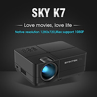 Máy chiếu K7-U mini, Led, 3500 lumens, 1080P của hãng Byintek - Hàng chính hãng thumbnail