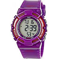 Đồng hồ nữ điện tử Q&Q Citizen M138J004Y dây nhựa thương hiệu Nhật Bản thumbnail