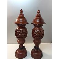 Đèn thờ quả dứa - cao cấp - chất liệu gỗ thumbnail