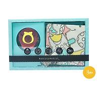 Ty ngậm silicon và khăn yếm tam giác Organic Bandana cho bé Marcus & Marcus - Marcus thumbnail