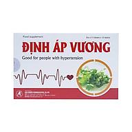 Thực phẩm bảo vệ sức khỏe Định Áp Vương giúp ổn định huyết áp thumbnail