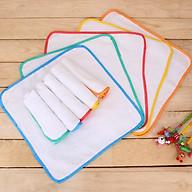 10 tấm lót chống thấm cho bé sơ sinh - Tặng kèm 01 bịch giấy lót phân su cho bé thumbnail
