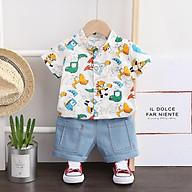 IBSN2 Size 80-110 (6-18kg) bộ Áo sơ mi chất đẹp + Quần Jean cho bé HÀNG QUẢNG CHÂU thumbnail