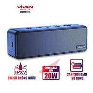 Loa Bluetooth 5.0 ViVAN Chuẩn Chống Nước IPX7, Công suất 20W, Dung Lượng Pin 3600mAh Cho Thời Gian Dùng Đến 24H - Hàng Chính Hãng thumbnail